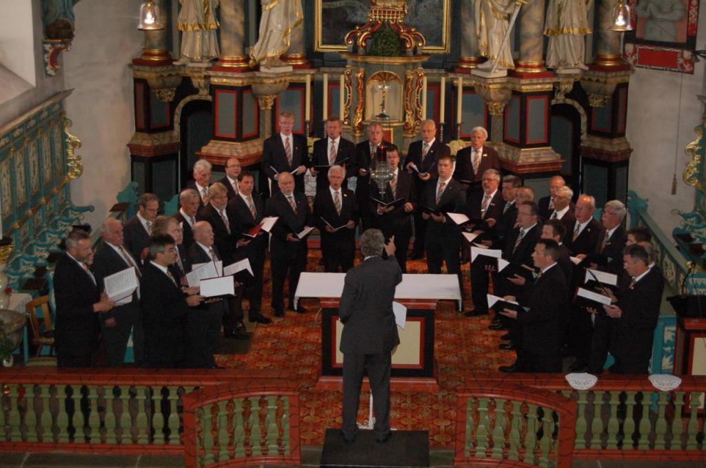 Kirchenkonzert 2012 mit der Kölner Kantorei
