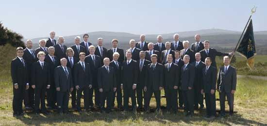 ... der Chor im 125-jährigen Jubiläumsjahr (Mai 2007)