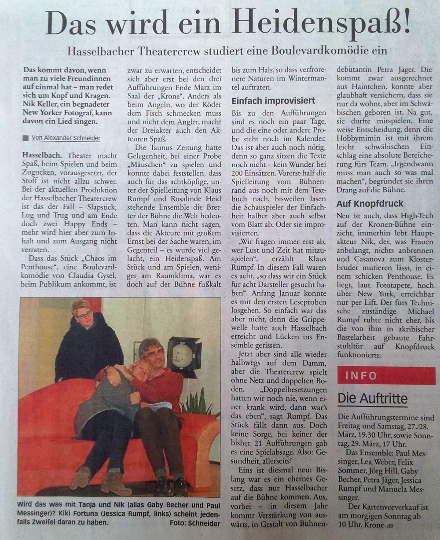 Taunus-Zeitung 14.03.2015