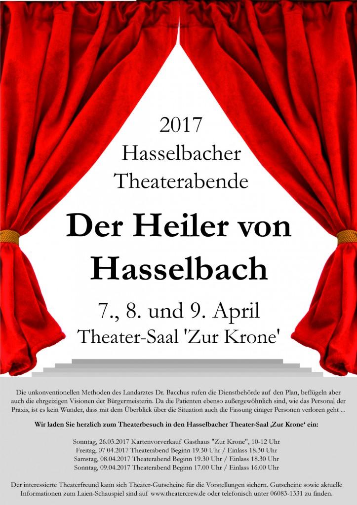 Hasselbacher Theater 2017 - Der Heiler von Hasselbach