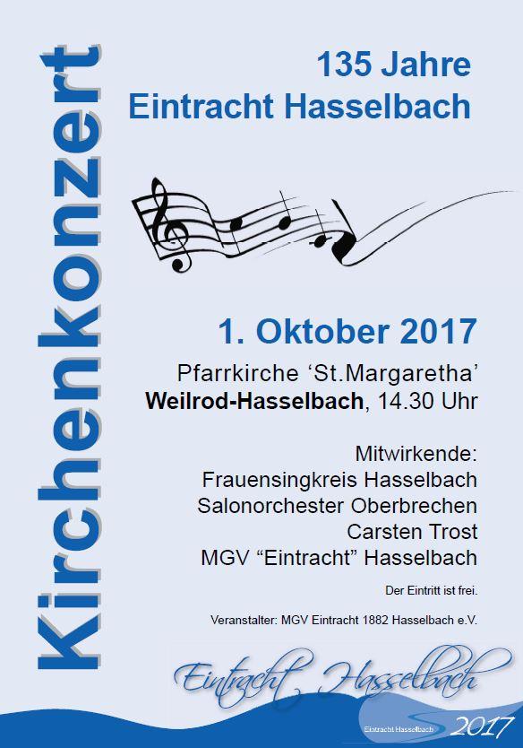 Kirchenkonzert Hasselbach