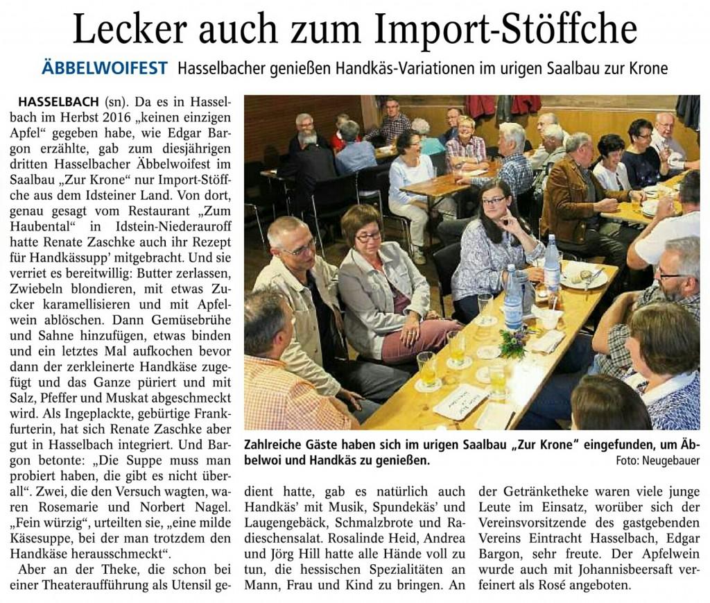 Usinger Anzeiger vom 02.07. / Quelle: http://www.usinger-anzeiger.de